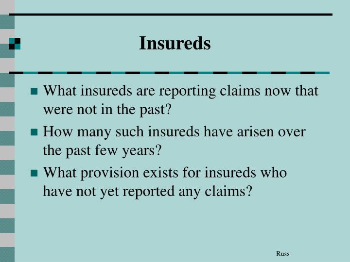 Insureds