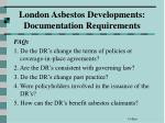 london asbestos developments documentation requirements4