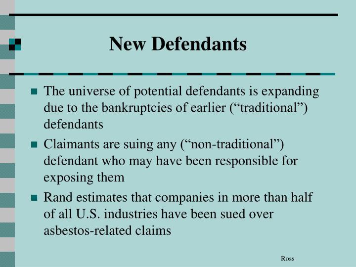 New Defendants
