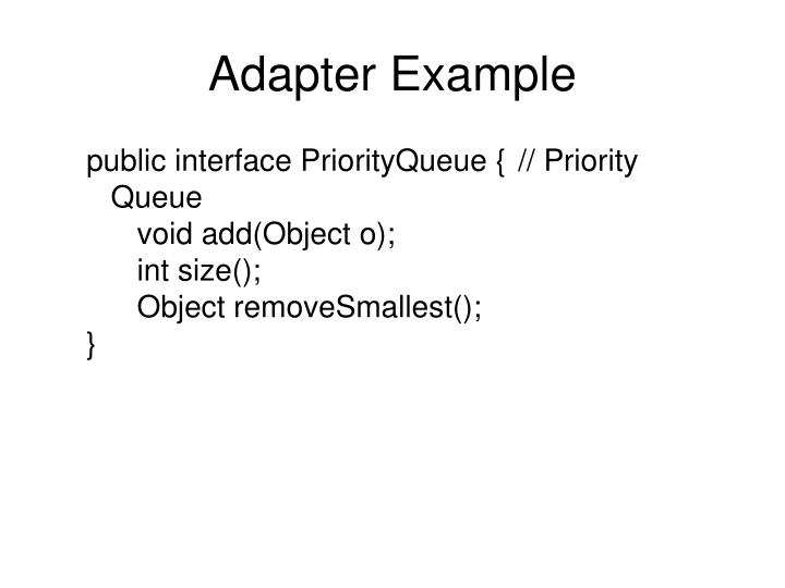 Adapter Example
