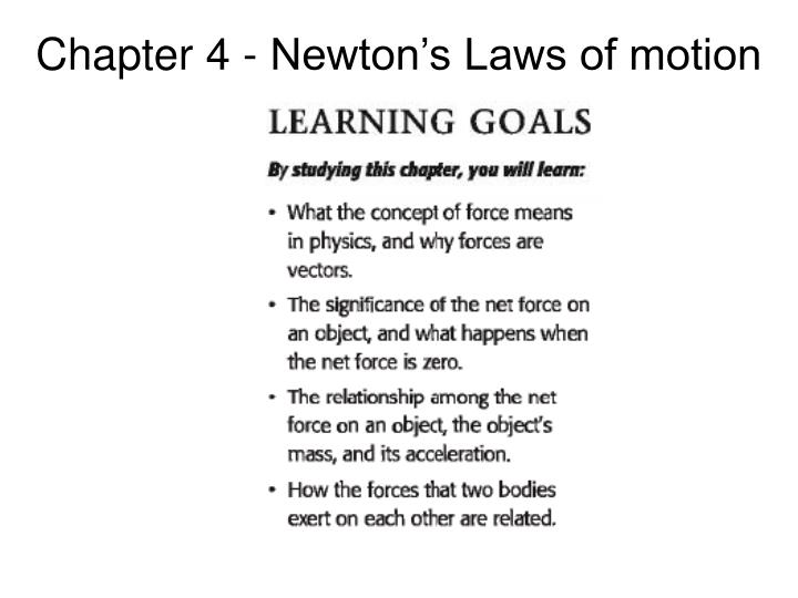 chapter 4 newton s laws of motion n.