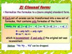 2 clausal form