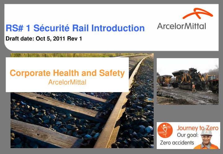 corporate health and safety arcelormittal n.