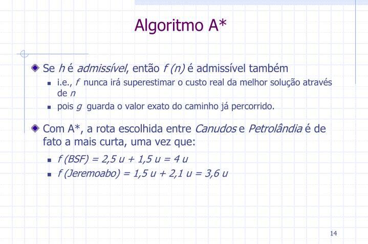 Algoritmo A*