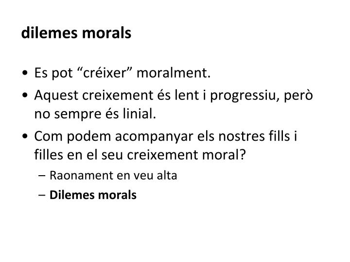 dilemes morals