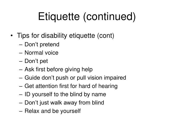 Ppt Disabilities Awareness Merit Badge Powerpoint Presentation