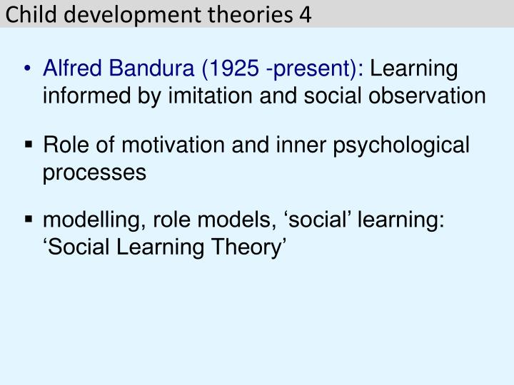 social learning theory child development