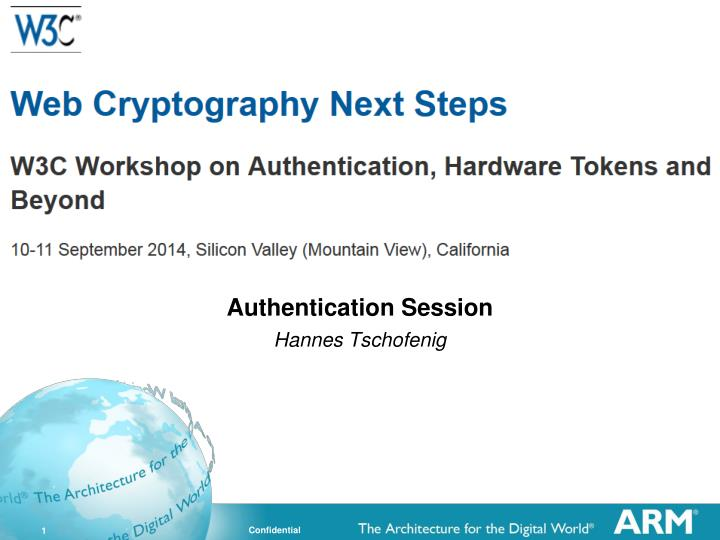 authentication session hannes tschofenig n.