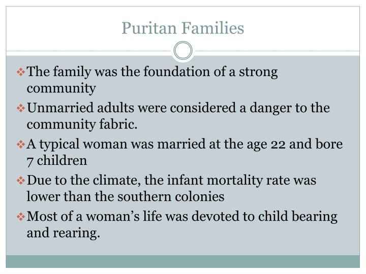 Puritan Families