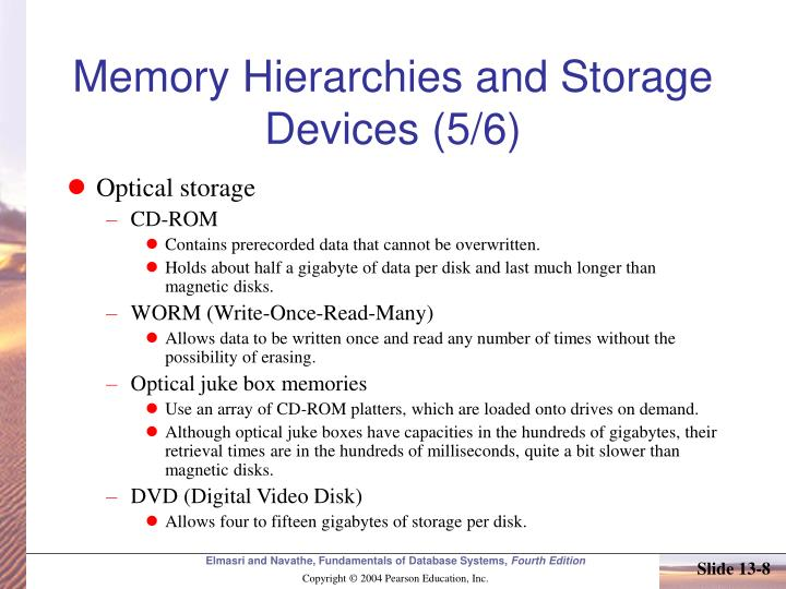 Memory Hierarchies and Storage Devices (5/6)