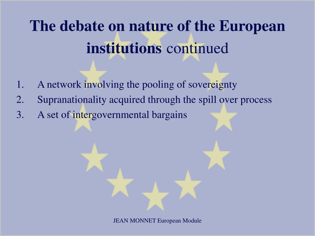 PPT - History and Theory of European Integration PowerPoint