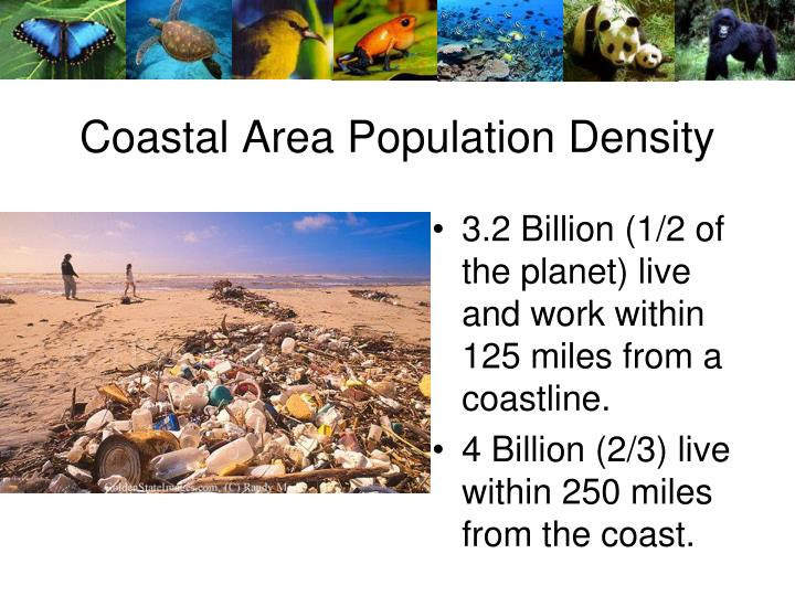 Coastal Area Population Density