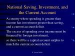 national saving investment and the current account3