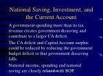 national saving investment and the current account7