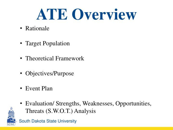 ATE Overview