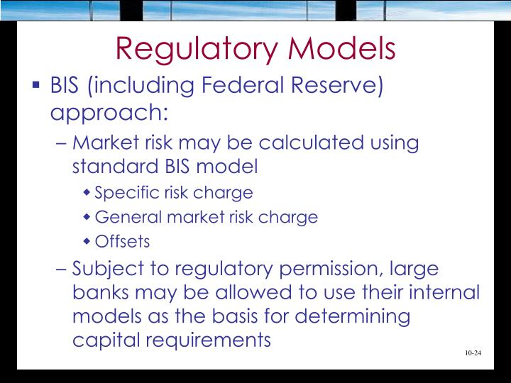 Regulatory Models