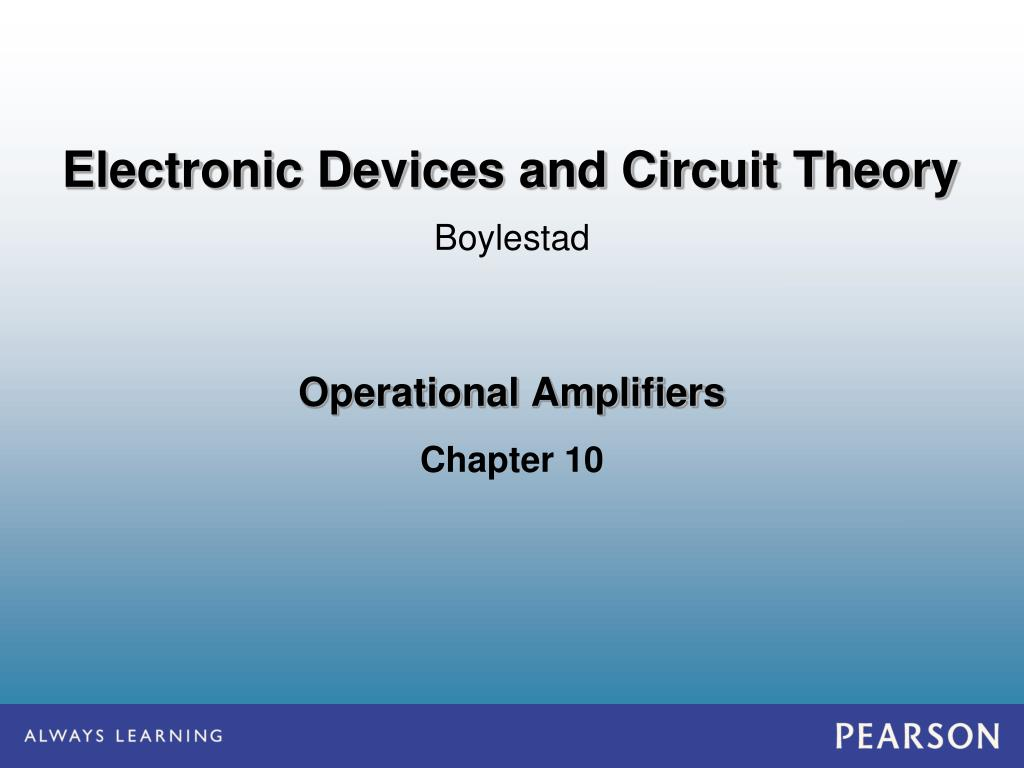 Ppt Operational Amplifiers Powerpoint Presentation Id6097317 741 Op Amp Ic Amplifier Integrated Circuit N