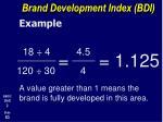 brand development index bdi3