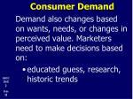 consumer demand1