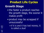 product life cycles10