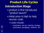 product life cycles4