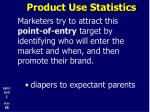 product use statistics3