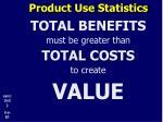 product use statistics6