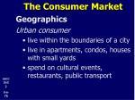 the consumer market17
