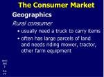 the consumer market19