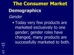 the consumer market9