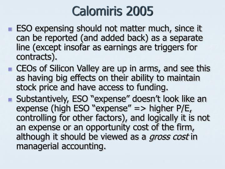Calomiris 2005