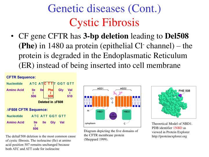 Genetic diseases (Cont.)