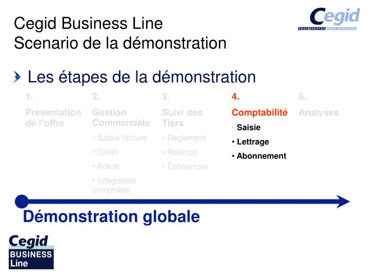cegid business line scenario de la d monstration n.