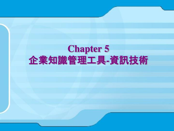 chapter 5 n.