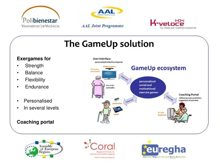 The GameUp solution