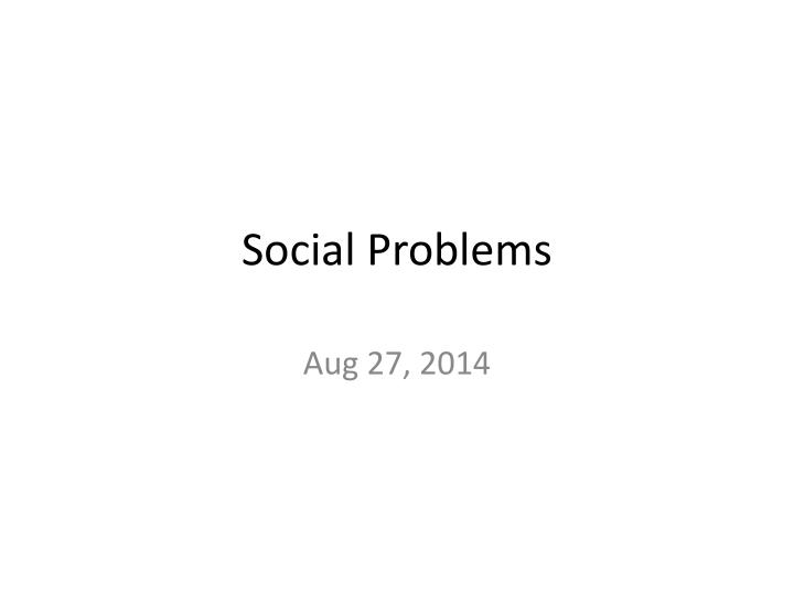 social problems test 2 In social problems ii: crisis  we will investigate some of the causes of this social problem and some ways that individuals and groups have tried to reduce the.