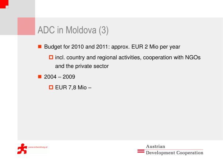 ADC in Moldova (3)