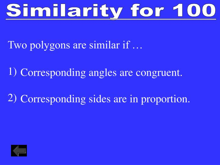 Similarity for 100