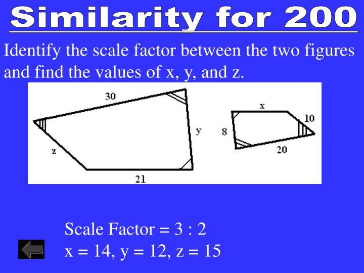 Similarity for 200