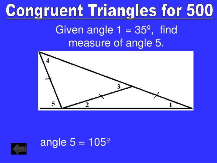Congruent Triangles for 500