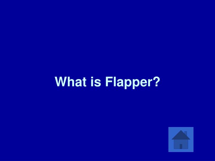 What is Flapper?