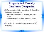 property and casualty insurance companies