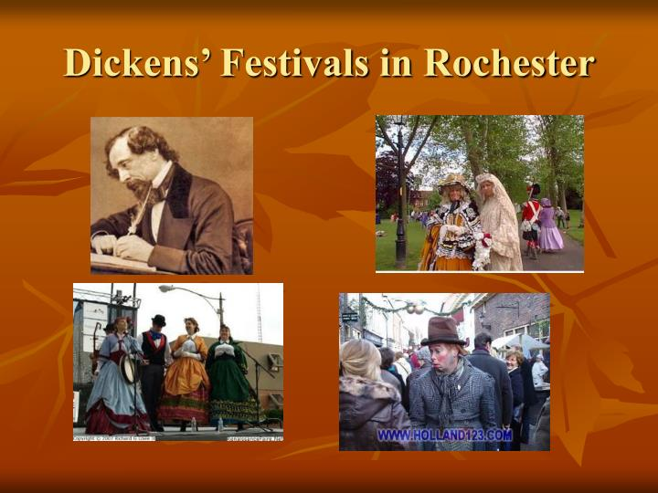 Dickens' Festivals in Rochester