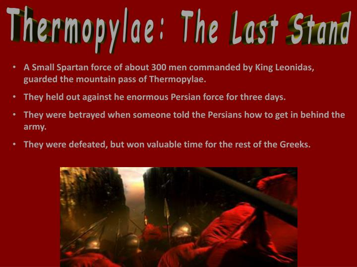 Thermopylae: The Last Stand