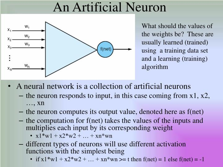 An Artificial Neuron
