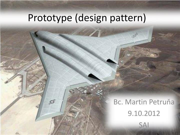 Prototype design pattern