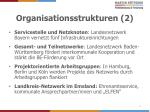organisationsstrukturen 2