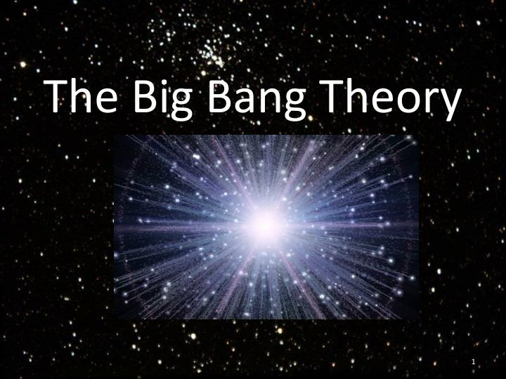 the big bang theory n.