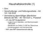 haushaltskontrolle 1