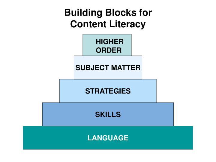 Building Blocks for
